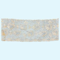 Stunning Rich Cream Old Lace for Doll Costuming