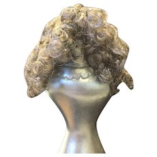 """Small Vintage Mohair Doll Wig 5 - 6"""""""