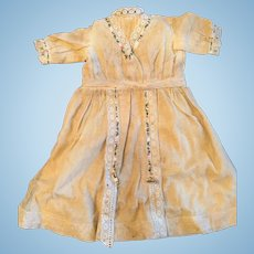 Cotton & Net Antique Doll Dress