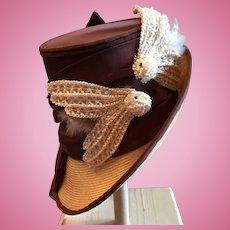 Fabulous Vintage Doll Bonnet
