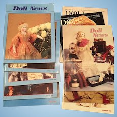 10 x Doll News Magazines