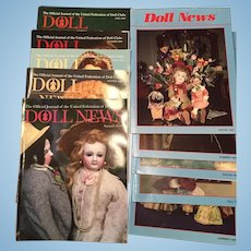 10 x Doll News Magazines