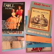 9 x Doll News Magazines