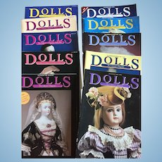 10 x Dolls - The Collector's Magazine
