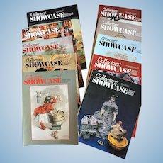 10 x Collector's Showcase Magazine
