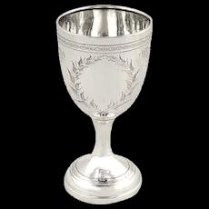 Antique Sterling Silver Goblet 1931