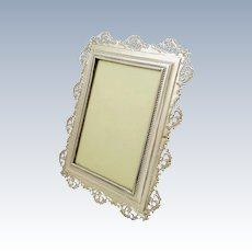 silver antique picture frames. Antique Victorian Sterling Silver 8\ Picture Frames M