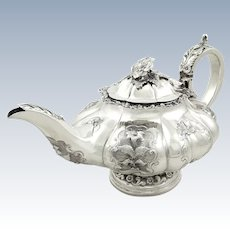 Antique William IV Sterling Silver Teapot 1834