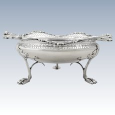 """Antique Sterling Silver 7"""" Mappin & Webb Bowl 1913"""
