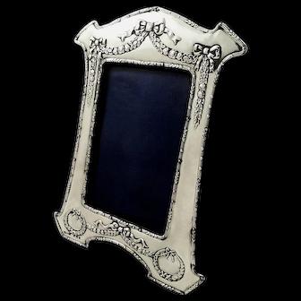 Antique Edwardian Sterling Silver Photo Frame 907