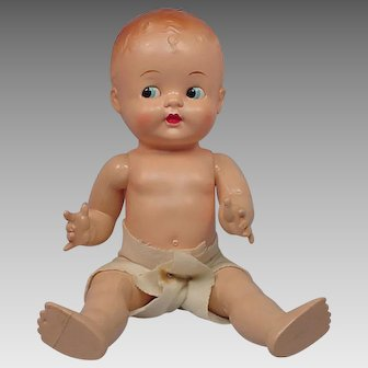 Ideal Baby Mine Hard Plastic Doll in Original box