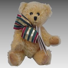 Canterbury Bears Lucas Mohair Bear Limited Edition