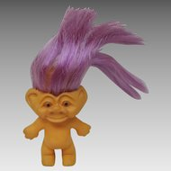 Vintage Rooted Hair Troll Weird Face