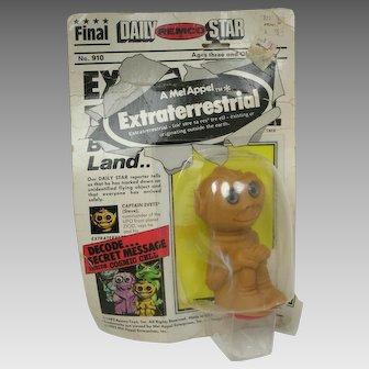 Remco Mel Appel Extraterrestrial Alien 1982 Toy Captain Evets