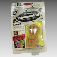 Remco Mel Appel  Extraterrestrial Alien 1982 Toy Captain Evets with beige plug