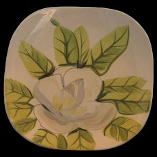 Red Wing Magnolia‑Chartreuse Salad Plate