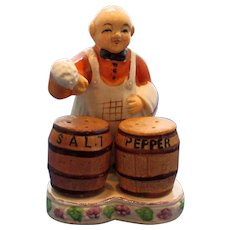 Vintage Bartender Salt and Pepper Shaker Set