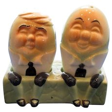 Vintage Humpty Dumpty Salt and Pepper Shakers