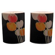 Mikasa China Tulip Salt and Pepper Shakers