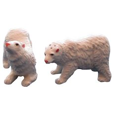 Vintage Polar Bear Salt and Pepper Shakers