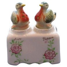 Vintage Duck Nodder Salt and Pepper Shaker Set