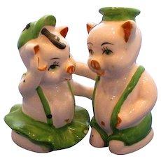Hugging Pigs Salt and Pepper Shakers