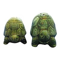 Vintage Turtle Salt and Pepper Shaker Set