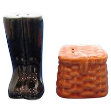Waders and Creel Salt and Pepper Shakers