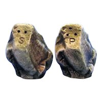 Enesco Boulder Salt and Pepper Shakers