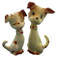 Sweet Terriers in Love Salt and Pepper Shakers