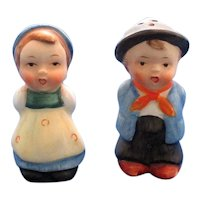 Sweet Children in Costume Salt and Pepper Shakers