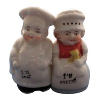 One Piece Chef and Maid Salt and Pepper Shaker