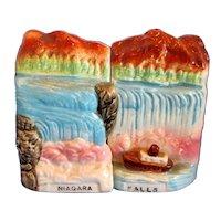 Vintage Souvenir Niagara Falls Salt and Pepper Shaker Set