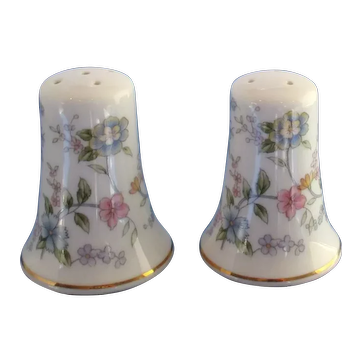 Vintage Andrea By Sadek Floral Salt and Pepper Shakers