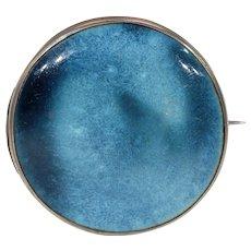 Antique Arts & Crafts Kensington Art Ware Silver Brooch Pin Ruskin