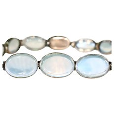Edwardian Gold Moonstone Bracelet