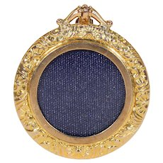 Victorian Repoussed Gold Frame Locket