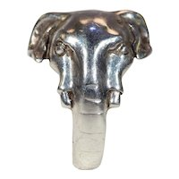 Vintage Elephant Ring in Solid Sterling Silver