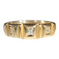 Antique 18k Victorian Diamond Ring Hallmarked Chester 1895