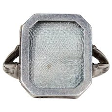 Vintage Silver Frame Ring Hallmarked 1934