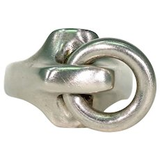 Silver Bolt Ring by N.E. From Danish