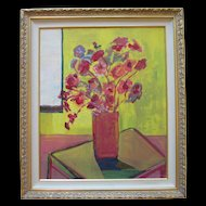 Guzman, California Expressionist, Abstract Modern Painting