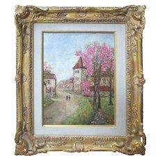 """Peyrat Post Impressionist original  """"Blossom"""""""