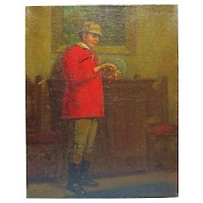 19th Century English painting of a English Gentleman