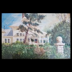Tom Helzer org Water Color Texas artist
