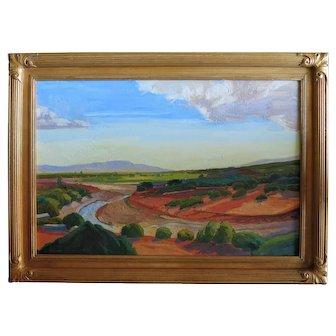 Raymond Cuevas  Org. California Painting