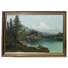 John Englehart Org Mt Shasta Oil Circa 1890