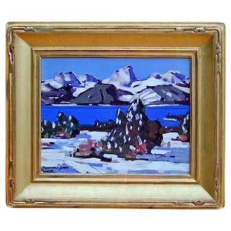 Conrad Buff Listed California artist