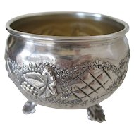 Sterling Footed  Salt Dish