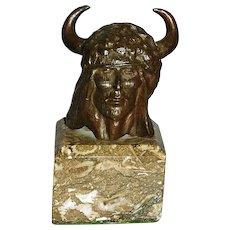 Kenneth A. Ottinger 1945 - Bronze Indian Head